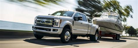 ford truck towing capacities
