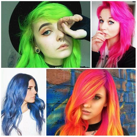 colorful hair ideas colorful hair colour ideas for hair 123