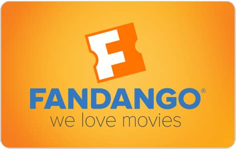 Fandango Gift Card Activation - merchandise fandangonow