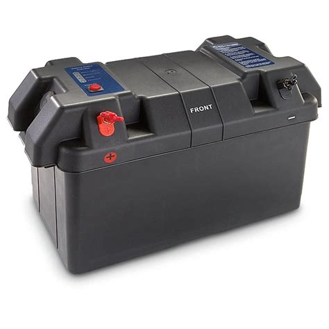 boat battery box with switch marine battery box 203054 boat electrical at sportsman