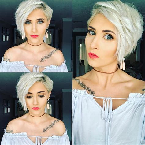 women short hairstyles for thick hair plantinum 20 trendy hair color ideas for women 2017 platinum