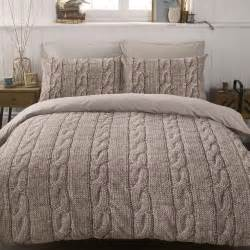 duvet set cable knit duvet cover