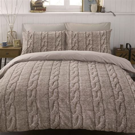 bedding knit duvet cover set disc on the hunt
