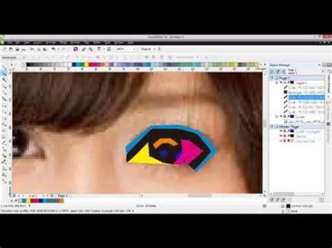 tutorial wpap corel draw youtube tutorial wpap dengan coreldraw part 2 youtube
