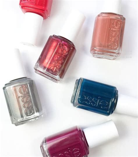 essie winter  collection swatches review beautygeeks