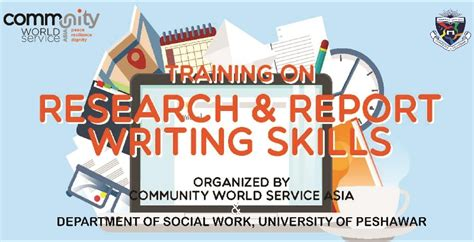 Social Work Report Writing Tips by Of Peshawar
