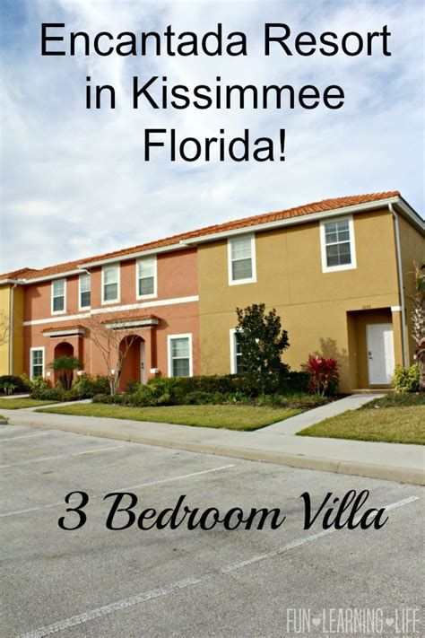 3 bedroom villas in florida what to expect from a 3 bedroom villa at the encantada resort in kissimmee florida