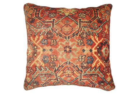 Rug Pillows pillow made from a rug second shout out