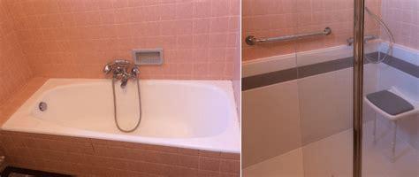 bac baignoire transformer baignoire en cheap duune senior