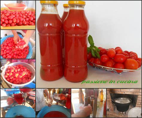 passata di pomodoro fatta in casa passata di pomodoro fatta in casa ricetta conserve