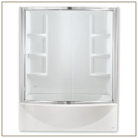 American Standard Shower Doors American Standard Shower Doors Dreamline Unidoor Plus 44 12 To 45 Inch Hinged Shower Door