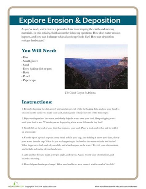 Erosion Worksheets by 84 Best Images About Weathering And Erosion On