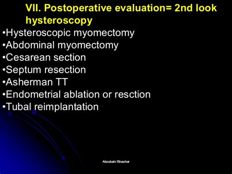 myomectomy during cesarean section hysteroscopy overview