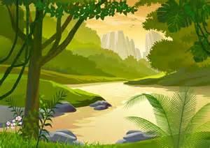 Palm Tree Wall Mural safari jungle frog clipart clipart suggest