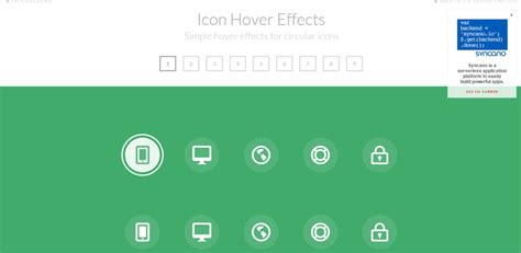 icon hover effects responsive jquery 36 image hover effects made with css3