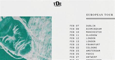 kendrick lamar tour dates kendrick lamar announces damn european tour dates with
