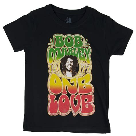 T Shirts Bob Marley Rasta bob marley groovy one black t shirt youth