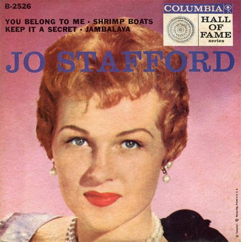 shrimp boat discogs jo stafford paul weston and his music from hollywood