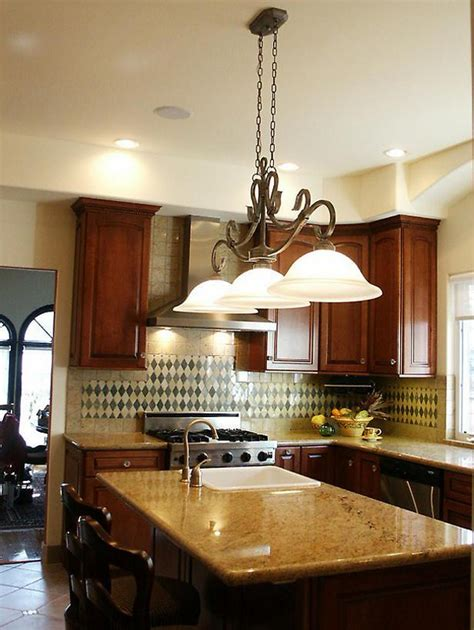 kitchen island light fixture height paristriptips design