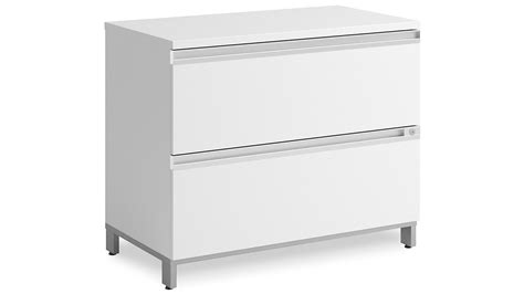 White 2 Drawer Lateral File Cabinet Modern Office Bbf Momentum 2 Drawer Lateral File Cabinet In White Zuri Furniture