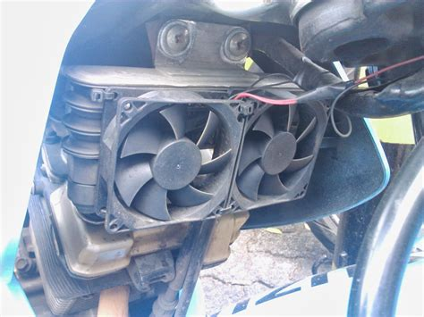 the story mesin satria fu panas pasang fan