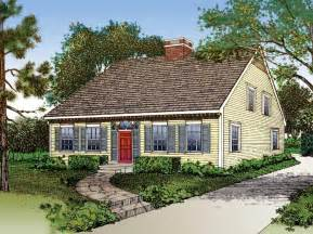 Cape Cod House Plan by Floor Plans Aflfpw22271 2 Story Colonial Cape Cod