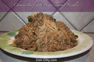 chinese beef with bean thread noodles recipe dish ditty