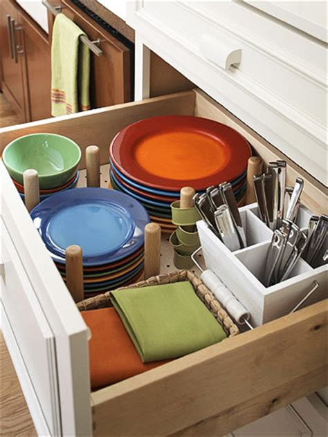 Kitchen Drawers For Dishes 15 Creative Ideas To Organize Dish And Plate Storage On
