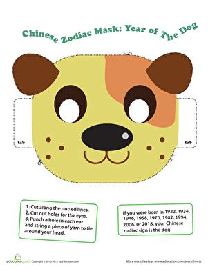 new year facts for preschoolers zodiac year of the worksheet education