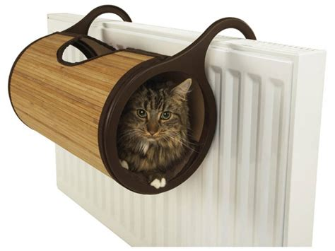 bamboo radiator bed hammock cat purrfect design