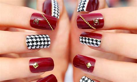 imagenes de uñas decoradas rojas u 241 as de gel rojas un cl 225 sico que siempre funciona