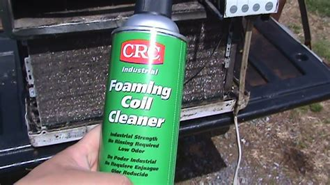 Ac Cleaner crc foaming coil cleaner vs a c coil