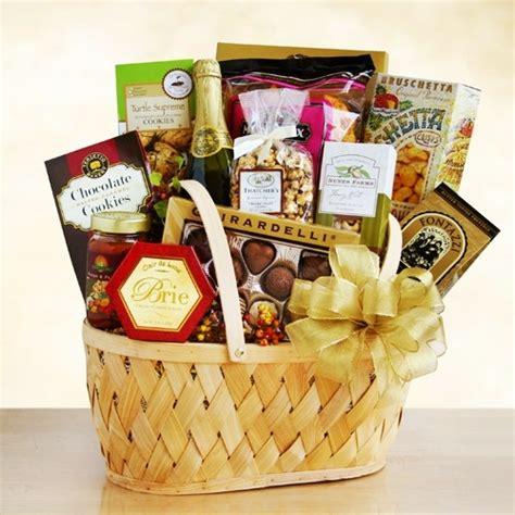 Food Gift Baskets - gourmet food sparkling cider gift baskets at gift