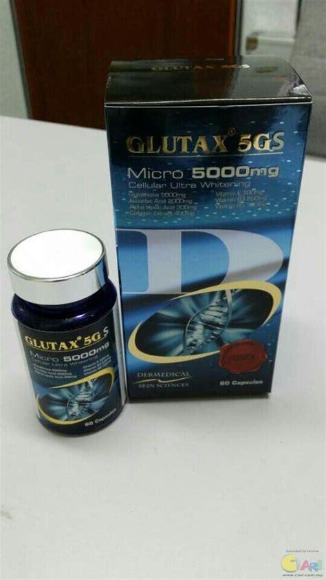 Kapsul Glutax 5gs iklan glutax 5gs pill original murah tips cantik