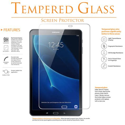Tempered Glass Tab For Zenpad C Z170cg מוצר tempered glass screen protector for samsung galaxy tab a 7 0 8 0 9 7 10 1