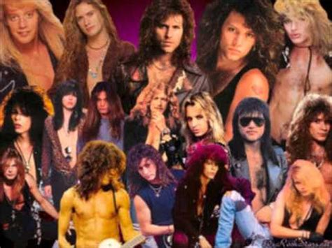 rock n roll 80s and 90s hairs 80 s hair band megamix by dj dark kent bon jovi poison