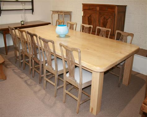 maple dining room table a fantastically large pale maple dining table dining tables