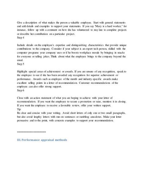appreciation letter to employee employee appreciation letter sample