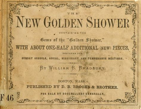 Golden Shower by Opinions On Golden Shower Disambiguation