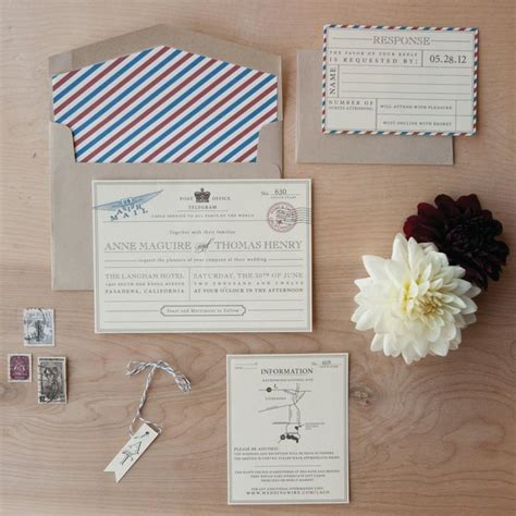 what comes in a wedding invitation vintage travel wedding invitation destination wedding