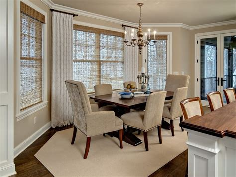 drapes for large dining room traditional with framed wall minneapolis short window curtains dining room traditional