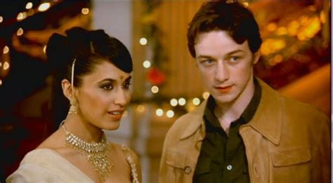 james mcavoy bollywood queen james mcavoy as jay with preeya kalidas in bollywood queen