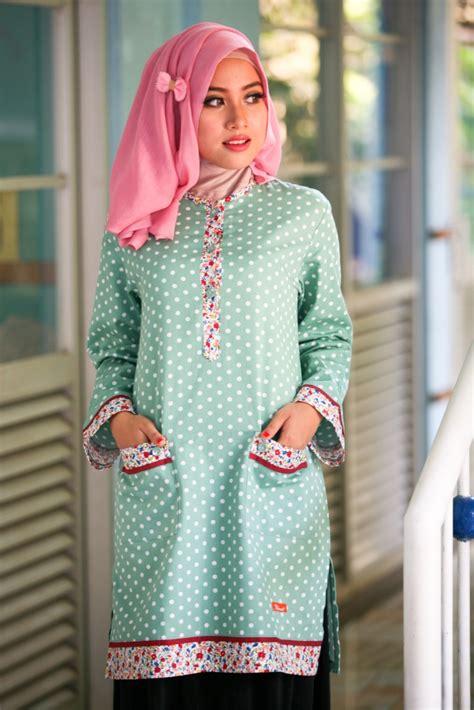 model busana muslim atasan yang modis nibinebu