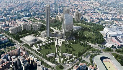 inps sede centrale roma citylife central tower c libeskind