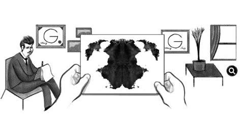 doodle rorschach dedica il suo doodle di oggi allo psichiatra rorschach