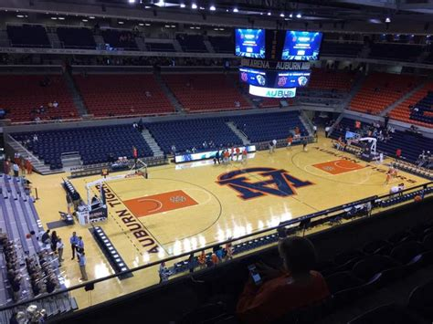auburn arena interactive seating chart