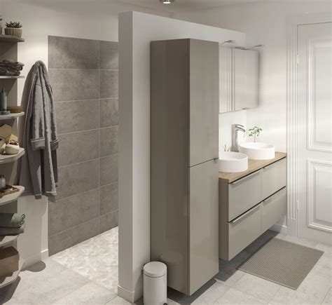 cooke lewis imandra gloss taupe vanity basin unit wmm bathroom bathroom vanity units vanity basin basin unit