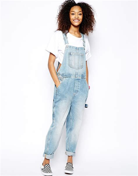 light blue denim overalls monki light denim overalls 85 you will want a pair of