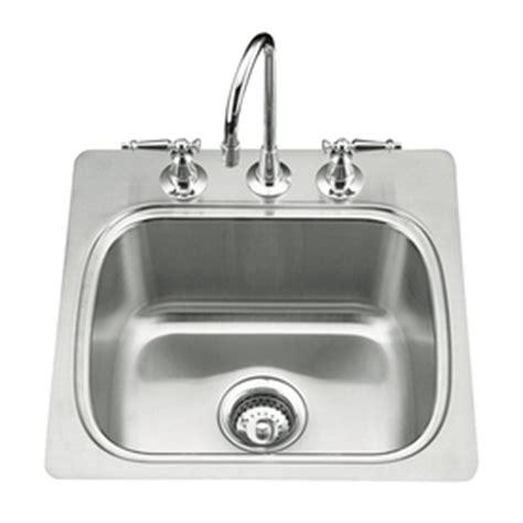 kohler verse sink review shop kohler verse 20 in x 20 in single basin stainless