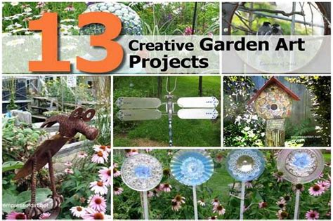 Garden And Craft Ideas 13 Creative Garden Projects